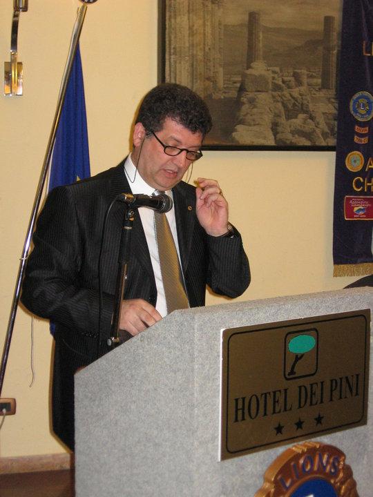 Il nuovo Presidente arch. Giuseppe Vella espone la propria relazione programmatica